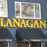 Lichtreclame Quick reclame Flanagan's
