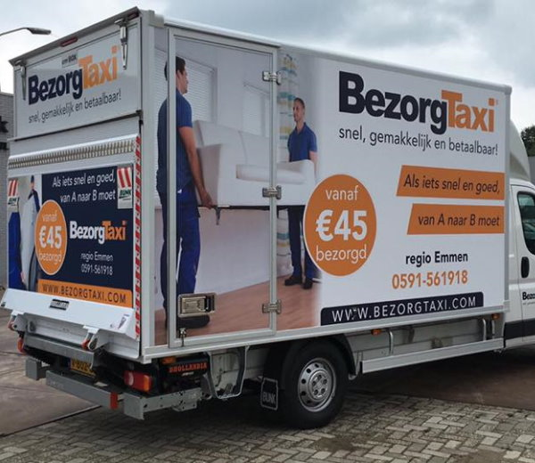 Trailer beletteren door Quickreclame